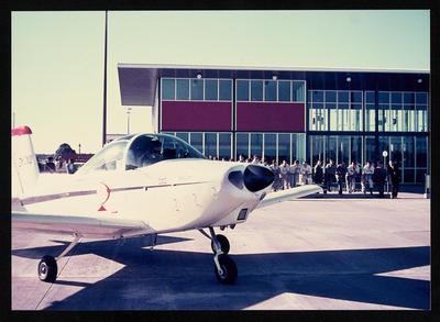 "[Airtourer ZK-CXU ""Miss Jacy"" at Hamilton New Zealand]"
