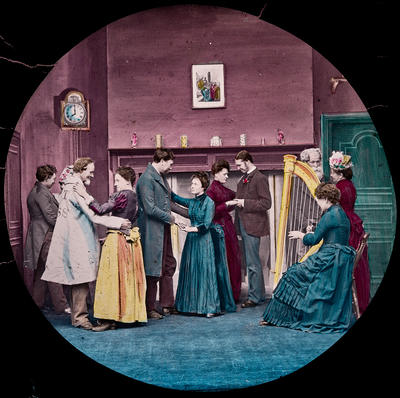 The cricket on the hearth: There was a dance in the evening