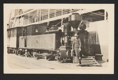 [NZR locomotive F 182]