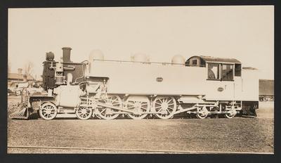 [Steam locomotive WS 686]