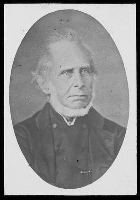 Portrait Photograph of the Rev. Robert Maunsell