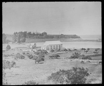 Early photograph of Waitangi