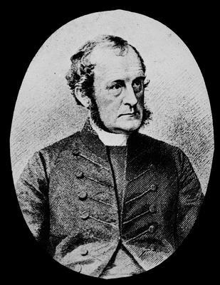 Portrait photograph of Bishop Selwyn