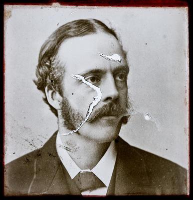 Portrait photograph of Mr. W. (?) Salport or Salmond