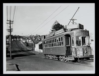 [Tram 216 on Richmond Road]