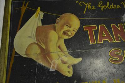 2015.140_p3 Taniwha Soap Sign Advertisement