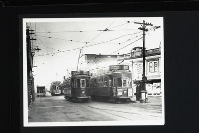 [Trams on Broadway, Newmarket]