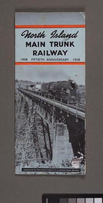 North Island main trunk railway: 1908 - 1958 fiftieth anniversary