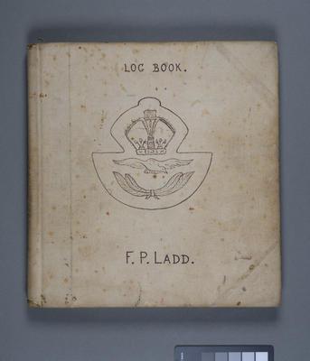 Log book. F. P. Ladd