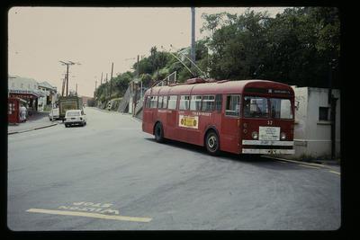 [Wellington Trolley Bus no. 53]