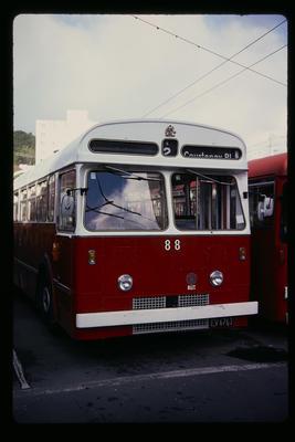 No. 88 Trolley Bus Rebuild