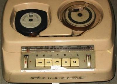 Dictating Machine (Grundig Stenorette)