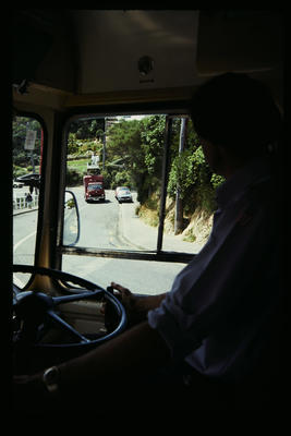 [Wellington Trolley Bus driver]