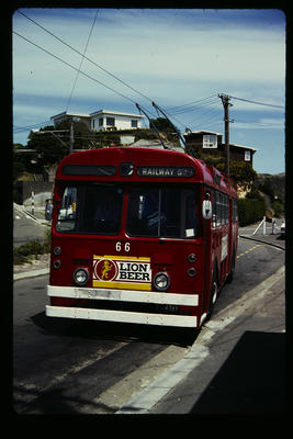 [Wellington Trolley Bus no. 66]
