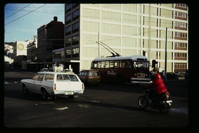 [Wellington Trolley Bus no. 11]