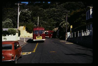 Hataitai Tunnel from City Pirie St