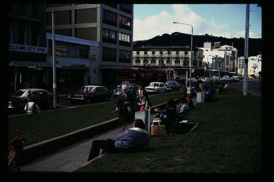 'Pigeon' Park Manners St Wellington