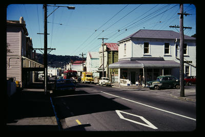 Aro St route Wellington