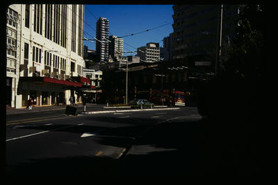 Outside Town Hall Wellington