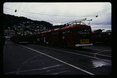 Kilbirnie Bus Depot Flags for 100 years; Peter Moses; 1978