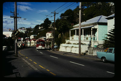 Aro St Route Wellington; Peter Moses; 1978