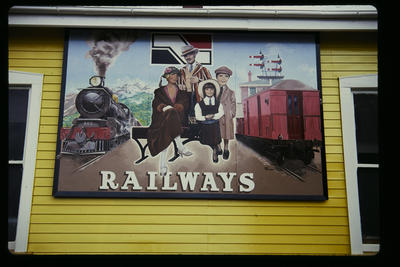 [New Zealand Rail sign]