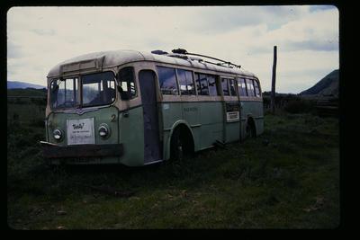 Auckland Trolley Bus Queen Elizabeth Park