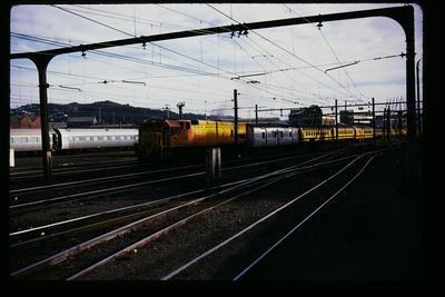 Wellington Station 'Northerner' leaves for Auckland
