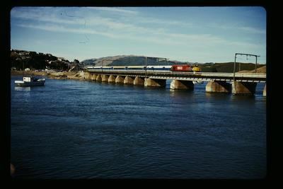 'Endeavour' Paremata Bridge Porirua Harbour