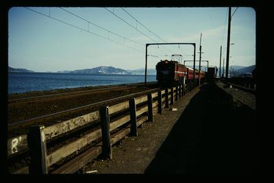 Commuter train Petone Wellington