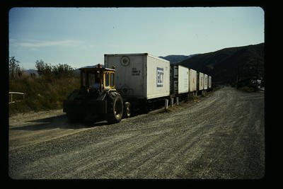 Shunting tractor Petone