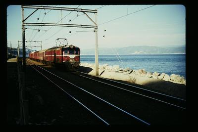 Commuter train near Petone Wellington
