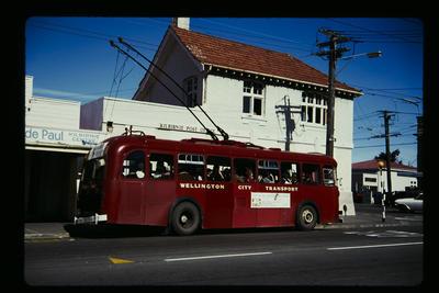 Trolley Buses Kilbirnie P.O.
