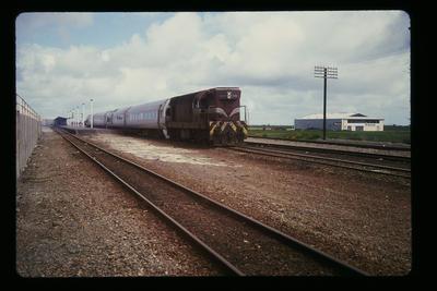 'Silver Fern' failed hauled by D.E