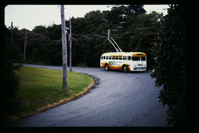 Trolley Bus Opoho Rd to Shiel Hill via City