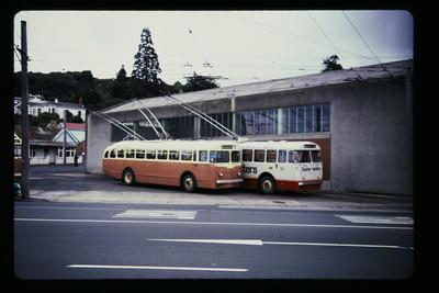 Trolley Bus Dunedin Depot