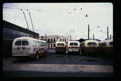 Trolley Bus Depot Dunedin