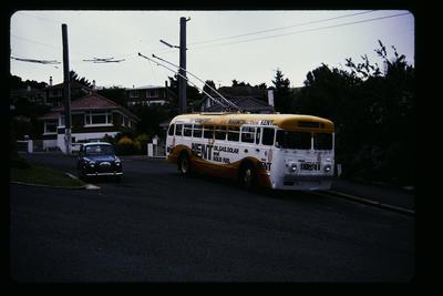 Trolley Bus Dunedin Opoho Terminus
