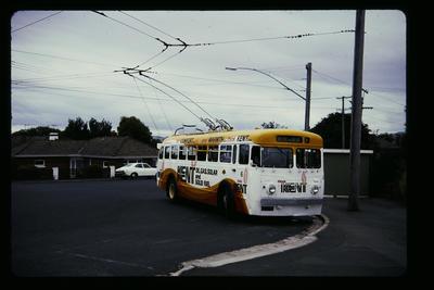 Trolley Bus Dunedin Shiel Hill Terminus