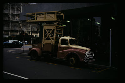Trolley Buses Tower Wagon Dunedin
