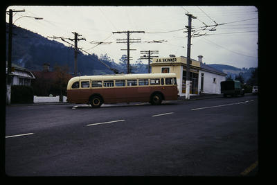 Trolley Bus Dunedin Normanby Terminus