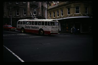 Trolley Bus Dunedin Octagon Loop