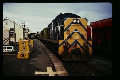 To Picton Kaikoura Station