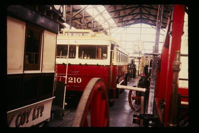 Trolley Bus No. 210 at Ferrymead Christchurch