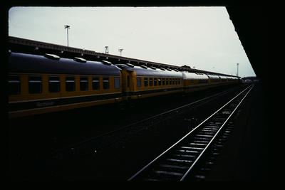 [Train carriages]