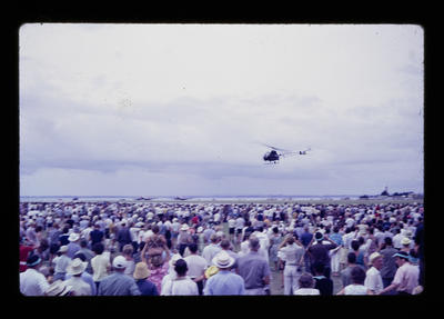 [Colour slides of Auckland Airport opening Grand Airpageant]