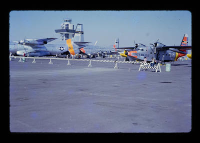 [Collection of 12 slides of aircraft]