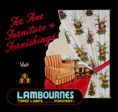 For fine furniture + furnishings visit Lambournes