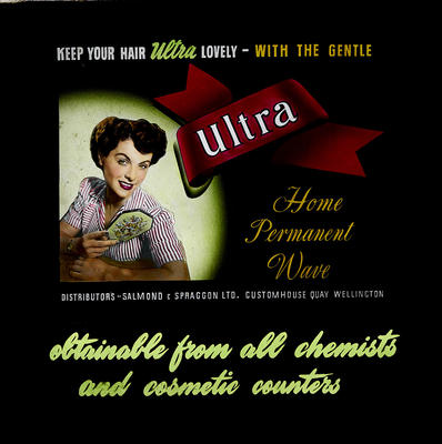 Keep your hair ultra lovely with the gentle Ultra Home Permanant Wave