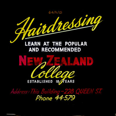 Hairdressing Learn at the popular and recommenced New Zealand College